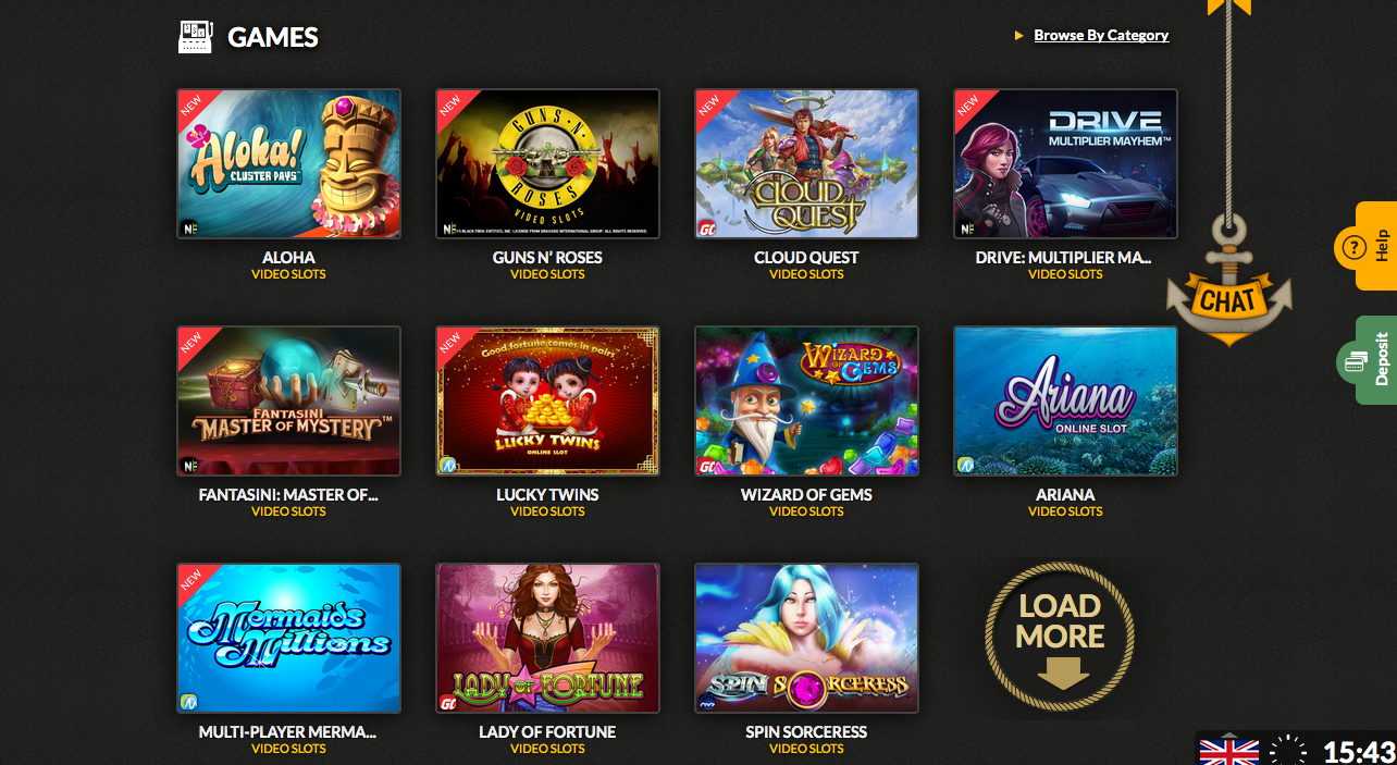 mobile casino download
