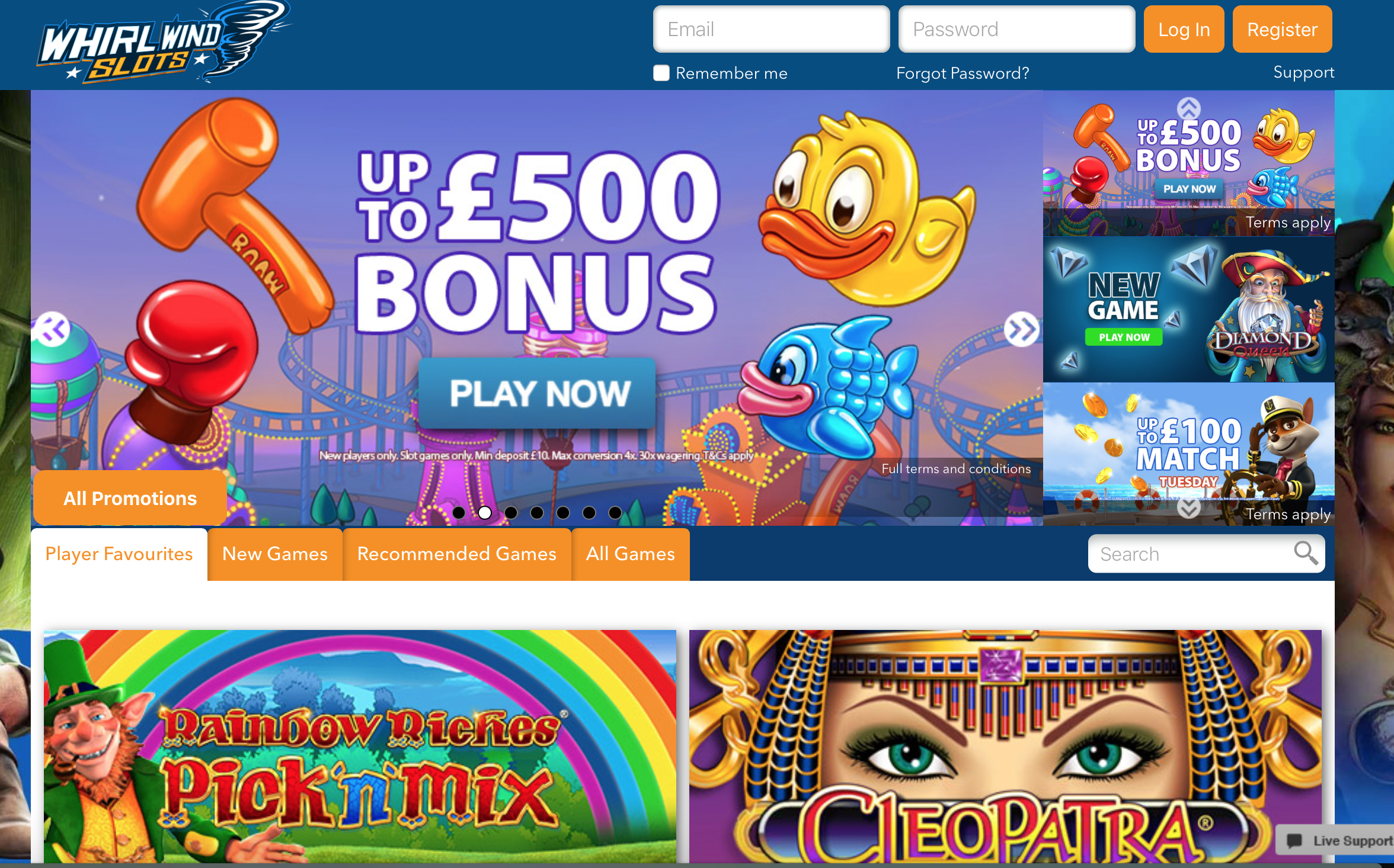 all slots casino minimum deposit