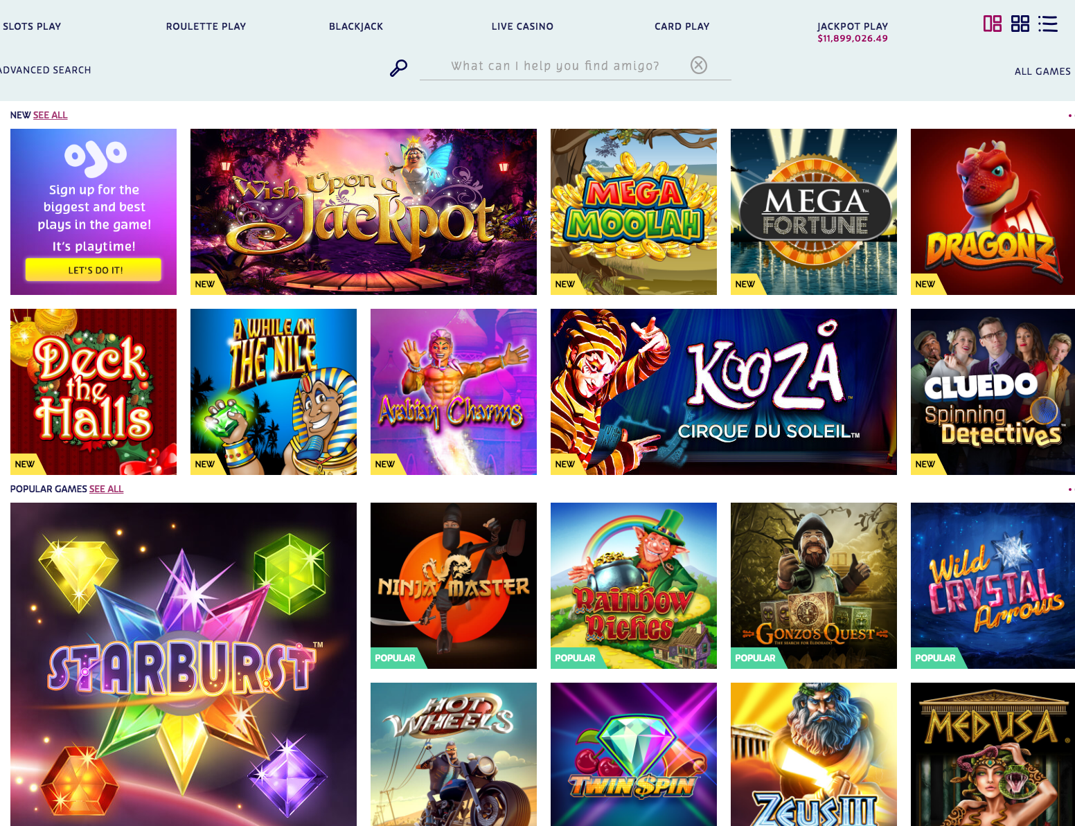 Money Back Archives - Get Free Spins at the Best UK Online Casino | PlayOJO