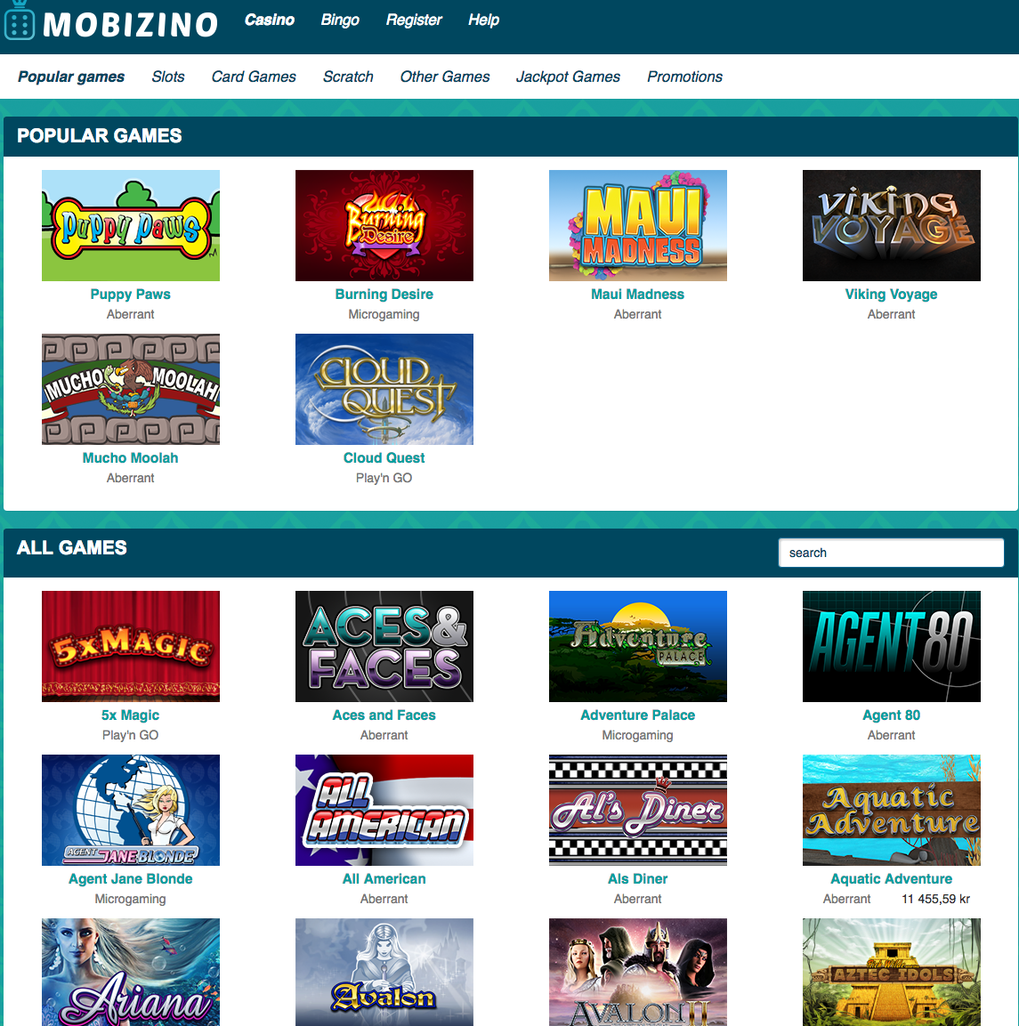 beste online casino apps