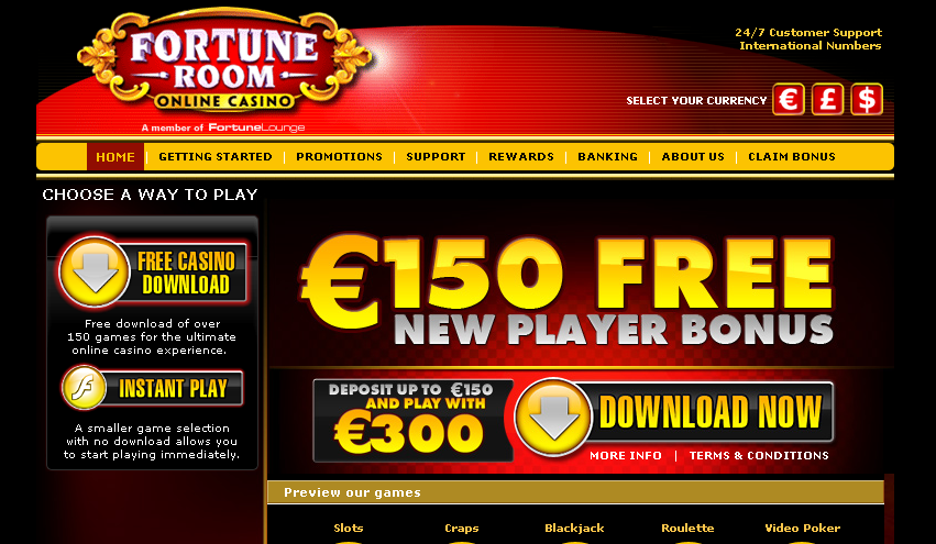 Bonus casino fortune lounge victor chandler casino bonus