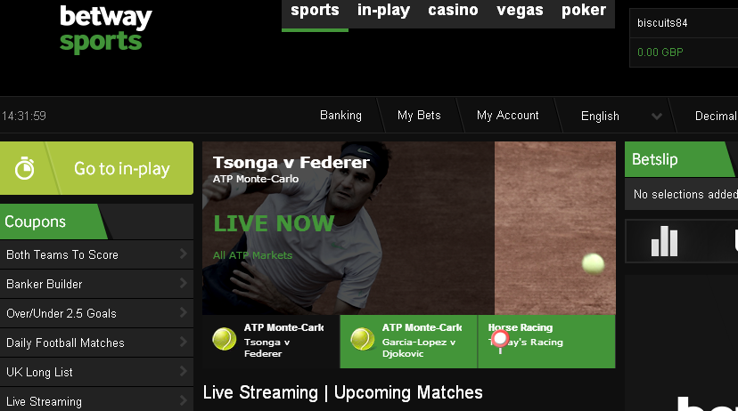 Betway Sports Review